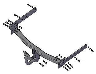 Фаркоп (ТСУ) Ford Kuga  c 2008 по 04.2013г.в. И Ford KugaII с 2013г.в. Трейлер до 1000 кг артикул 6041