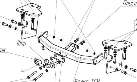Сообщите промо-код 1396213 при заказе и поучаствуйте в различных акциях Фаркоп 2850-F Suzuki Grand Vitara  Фаркоп на Suzuki Grand Vitara 5 дверей 2005/9-2012 без выреза в бампере. Тип шара: F. Нагрузки: 1500/75 кг - 2850-F Bosal