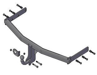 Фаркоп (ТСУ) Great Wall Hover Н3 (СС 6460КМ27) с 2009-2013 г.в.,Great Wall Hover Н5 (СС6461КМ29) с 2010 г.в. Трейлер до 1200 кг артикул 8120