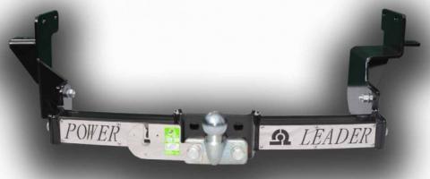 Фаркоп (ТСУ) для HYUNDAI SANTA FE (DM) 2012-.../ KIA SORENTO 4 (XM FL) 2012-...(C НЕРЖ. ПЛАСТИНОЙ) Лидер-Плюс до 2000 кг артикул H224-F(N)