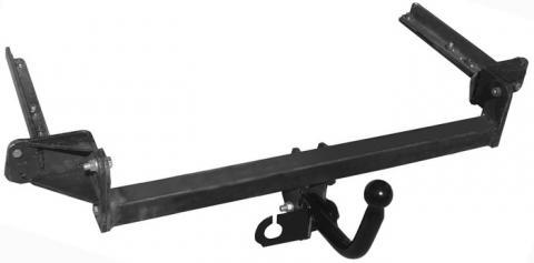 Фаркоп (ТСУ) для HONDA CIVIC (FD1) (седан) 2006-...Лидер-Плюс до 1200 кг артикул H103-A