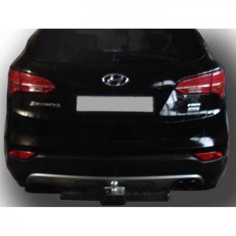 Фаркоп усиленный для Hyundai Santa Fe (Хендай Санта Фе) 2012-2018 № H224-F
