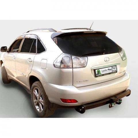 Фаркоп усиленный (с декор. пластиной) для Lexus RX 300/330/350/400 (2003-2009) № L101-F(N)