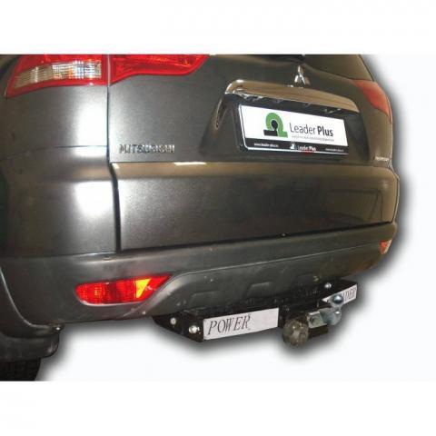 Фаркоп усиленный (с декор. накладкой) для Mitsubishi Pajero Sport (2008-2016) № M115-F(N)