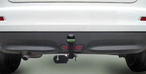 Фаркоп (ТСУ) для NISSAN JUKE (F15) (2WD) Лидер-Плюс до 1100 кг артикул N116-A