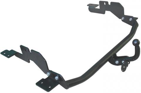 Фаркоп (ТСУ) для HYUNDAI H1 H1,STAREX (минивен) (2WD, задняя рессорная подвеска) 1998-2004 Лидер-Плюс до 1200 кг артикул H208-A