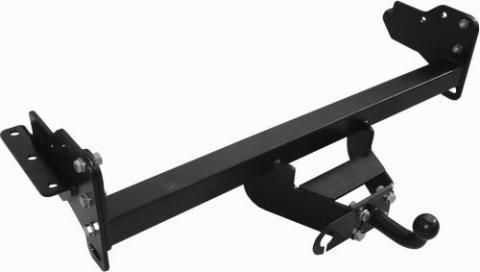 Фаркоп (ТСУ) для NISSAN NAVARA Double Cab (D40) (со ступенькой) 2005-... Лидер-Плюс до 2000 кг артикул N107-F